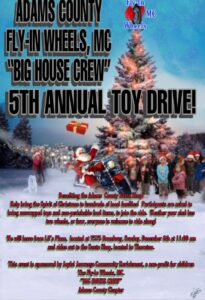 Fly-In Wheels 5th Annual Toy Drive @ Lil's Place
